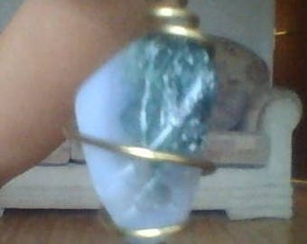 Green agate necklace (Healing crystal)