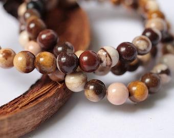 Multi Brown Beads