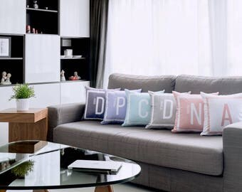 Personalized Pastel Cushion by ATD