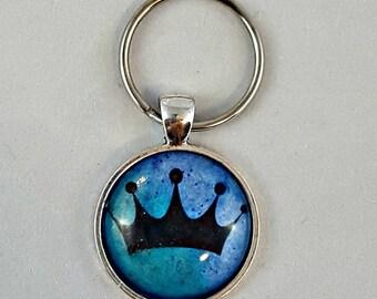 Princess Crown Dog Collar Charm