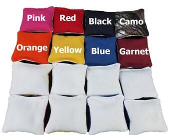 Mini Cornhole Bags 3 inch All Weather Bags | Miniature Corntoss Tournament Style Bags | Mini Cornhole Stop and Go 3 inch | Kids Bag Toss Bag