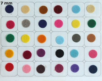 Velvet Round Colored Bindi Stickers,Wedding Round Bindi,Plain Colorful Bindis,Indian Multicolor Face  Bindis,Bollywood Bindis,Self Adhesive