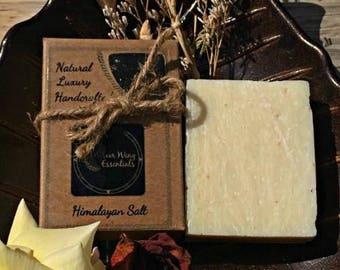 Himayalan Salt Soap (Vegan, Natural, Fragrance Free)
