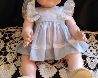 """PRETTY! Vintage Weiss Doll, 20"""" life like, Stamped Weiss"""