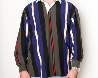 Vintage Brooks Brothers Rugby Shirt Large