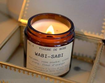Candle Wabi - Sabi NO.4: powder pink