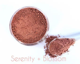 Rose + Coconut Clay Face Mask  | 100% Natural | Serenity + Blossom