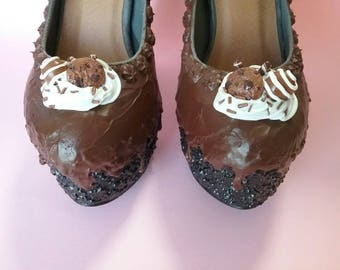 Women's shoes cup cake at ciok