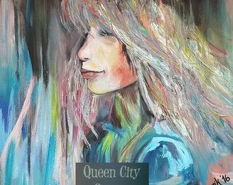 She / original oil on canvas