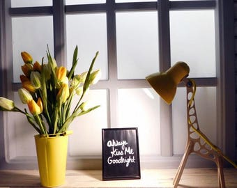 Lamp Giraffe, Unique Design, Reading Lamp, Work Lamp