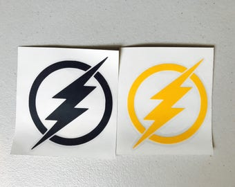 The Flash inspired Decals