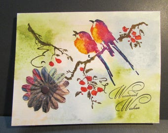 Handmade greeting card/notecard