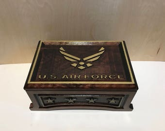 U.S. Air Force Wooden Box