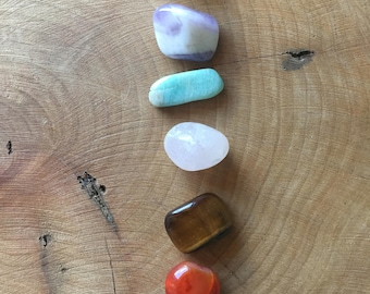 Chakra Crystal Kit With Guide Sheet