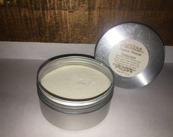 Organic Mineral Sunscreen