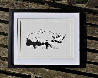 The Rhino Hitchhiker