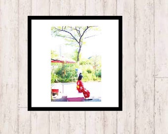 Early Summer. Art Poster - INSTANT DOWNLOAD