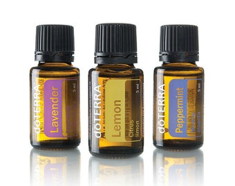 doTerra Beginner's Trio Lavender, Lemon, Peppermint