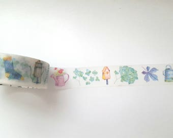 Gorgeous Garden Style Washi Tape