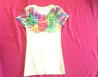 Handmade Colorful Tie-Dye T-shirt