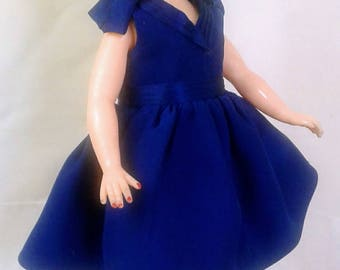 Little Miss Revlon Doll Dress Ideal Toy Corp. LMR Fits Similar Sized Dolls