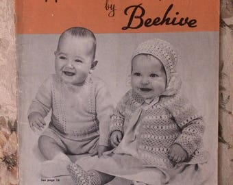 Vintage Handknits for Baby pattern book