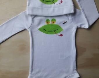 Ribbit Ribbit Little Frog