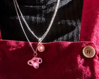 Uterus necklace