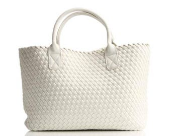 Weve Bag Co - Evie in Chalk White