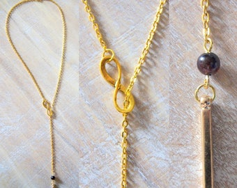 Forever is minimalist and natural Garnet gem