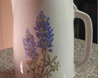 Frankoma pottery pitcher #81
