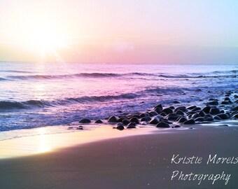 Magical Beach Sunset Print