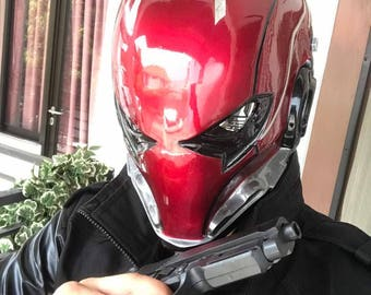 Red Hood Tactical Helmet Extreme Details