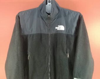 Vintage The North Face Jacket Windstopper Fleece Sweater Black Colour Size M Outdoor Jacket Nike Jacket Black Sweater The North Face Shirts