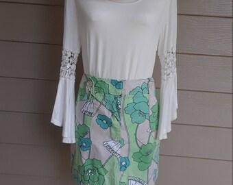 Ann Taylor Loft Floral Skirt