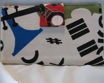 Fabric Ladies Wallet FWT104