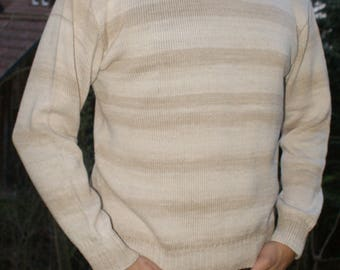 Men sweater cotton, Gr. 48-50