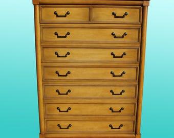 midcentury italian provincial 12 drawer dresser midcentury dresser highboy dresser