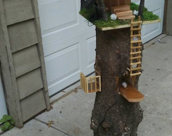 SOLD Gnome Tree House Retreat