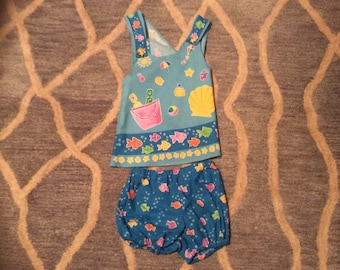 Summertime  play cloths for girls size 2