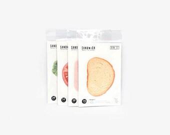 Sandwich Sticky Notes - (SET OF 150)