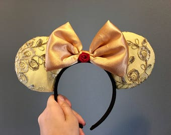 Belle Themed Ears