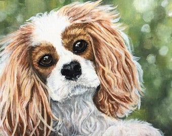 Custom Pet Portraits / Pet Painting / Dog Painting / Cat Painting