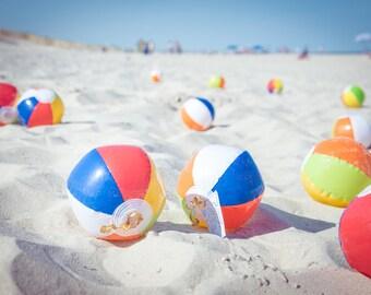 So Many Beach Balls! 3 Prints Digital Download