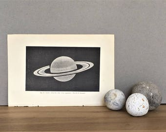 Space Print, Saturn, Cosmic Astronomy Print, Astronomy Gift, Space Gift, Space Wall Art, Astronomy Art, Planet Outer Space Print, Sky Print