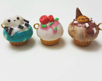 Themed kawaii cupcakes