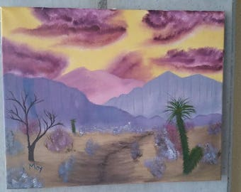 Storm Brewing in the Desert