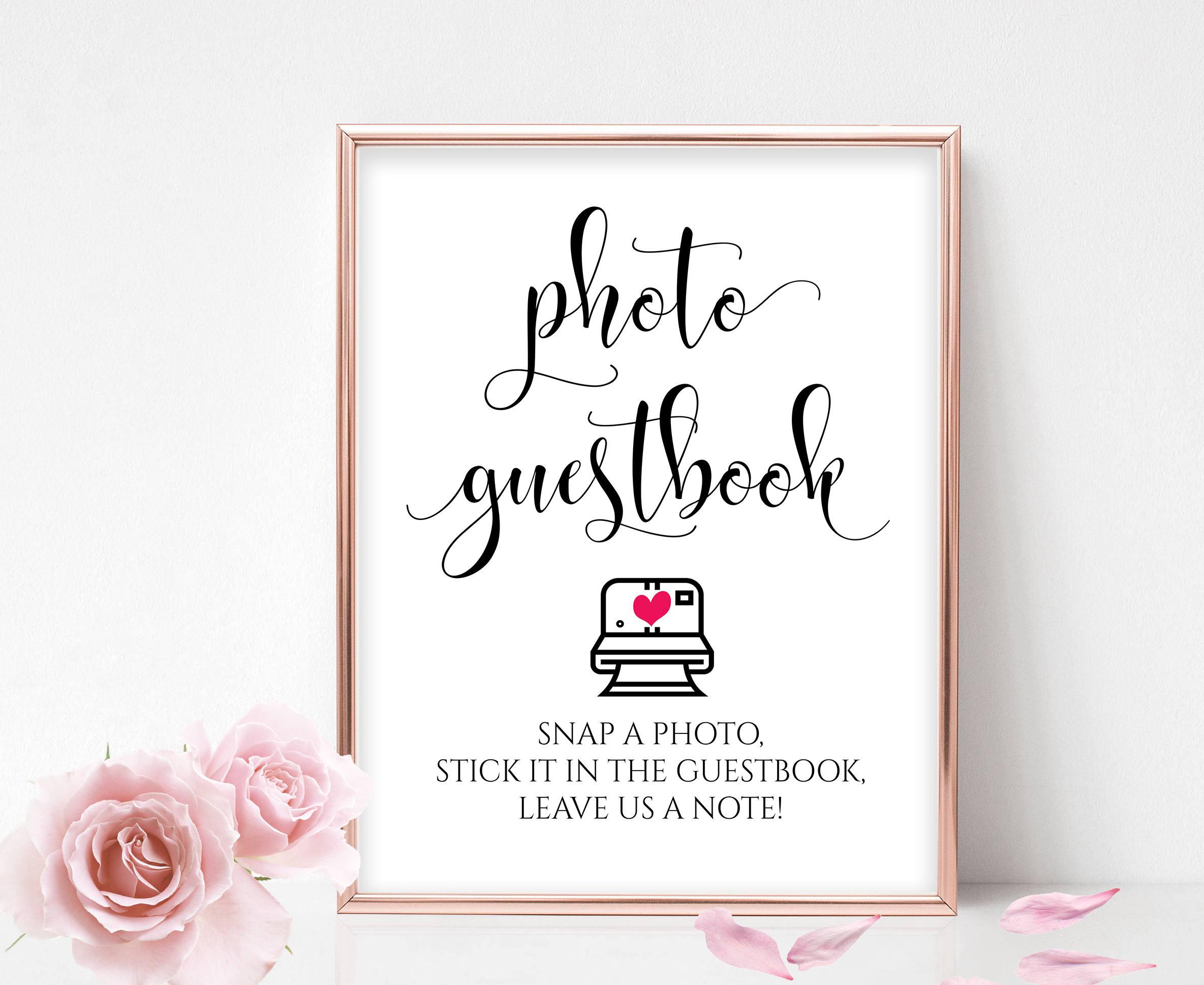 guestbook sign wedding