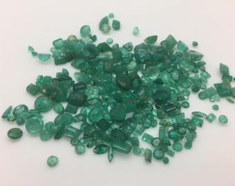 Loose Emeralds-- 92 CTS