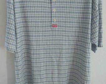 Sale Vintage 90s Tommy Hilfiger Rare Design Big Size T shirt